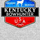 KENTUCKY BOWHUNTER BOW HUNTER DEER HUNTING TROPHY 2 by MyHandmadeSigns