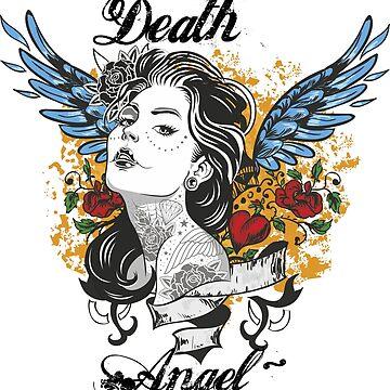 Angel Tattoo by mythsandmagic
