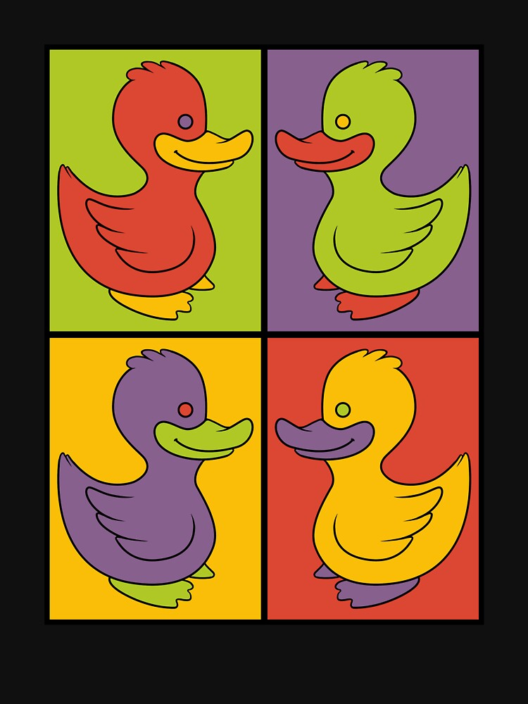 Pop Art Love Ducks by mosshrooms