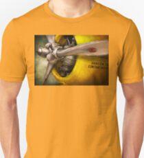 Plane - Pilot - Prop - Twin Wasp Unisex T-Shirt
