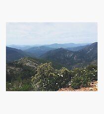 Sierra Nevadas Photographic Print
