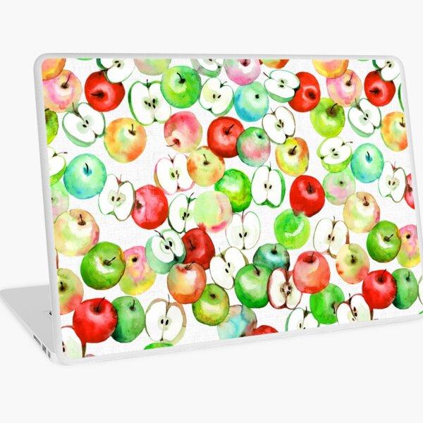 Äpfel Aquarell Laptop Folie