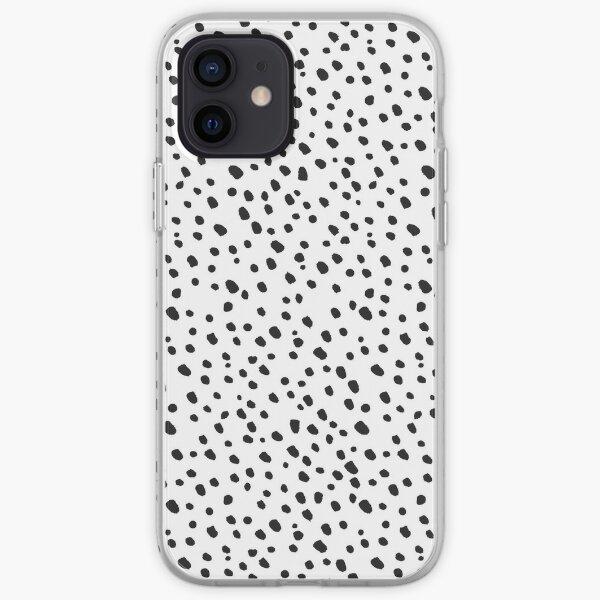 Black Dots by Minikuosi iPhone Soft Case