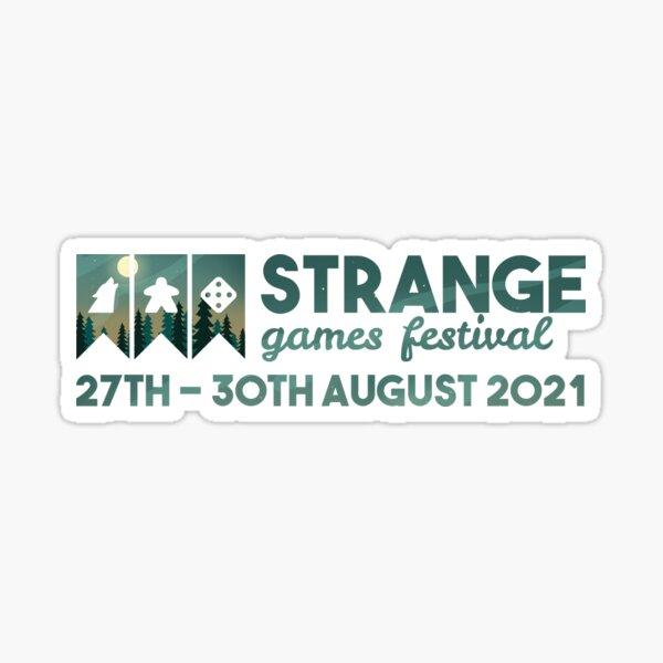 Strange Games Festival Logo (image) Sticker