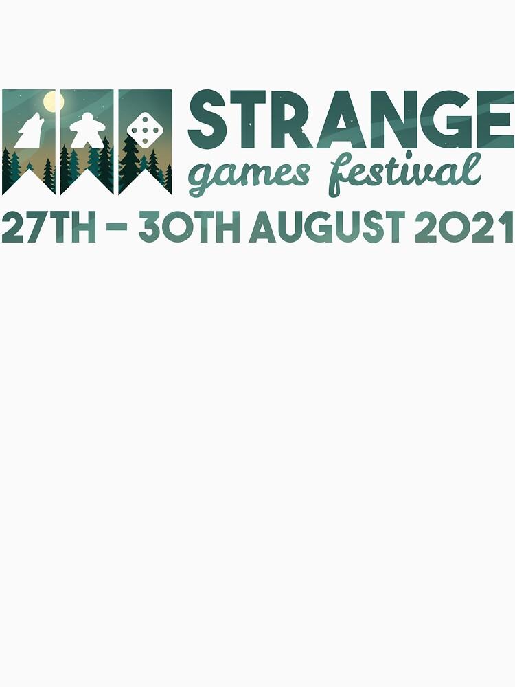 Strange Games Festival Logo (image) by StrangeGamesF