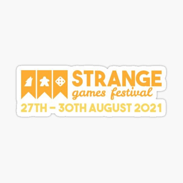 Strange Games Festival Logo (dark) Sticker