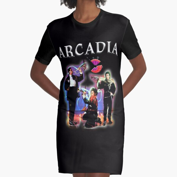 Arcadia So_ Red_ The Rose Graphic T-Shirt Dress