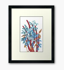 Sea Dragons Framed Print