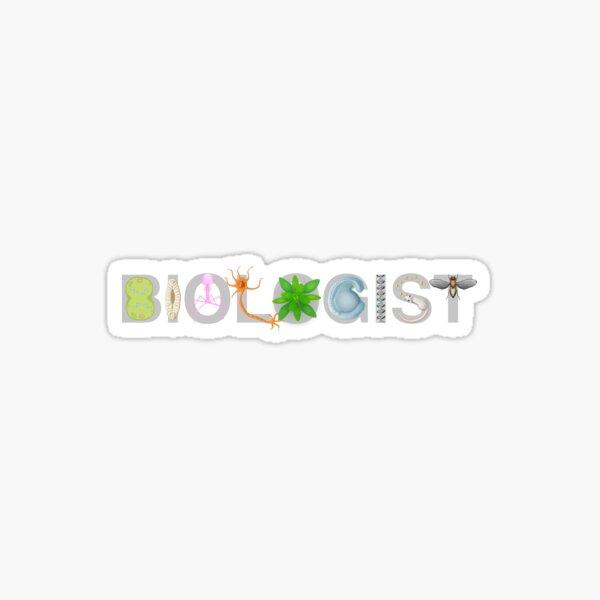 Biologist  Sticker
