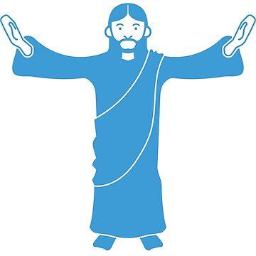 Tweeting Jesus by chimeraarts