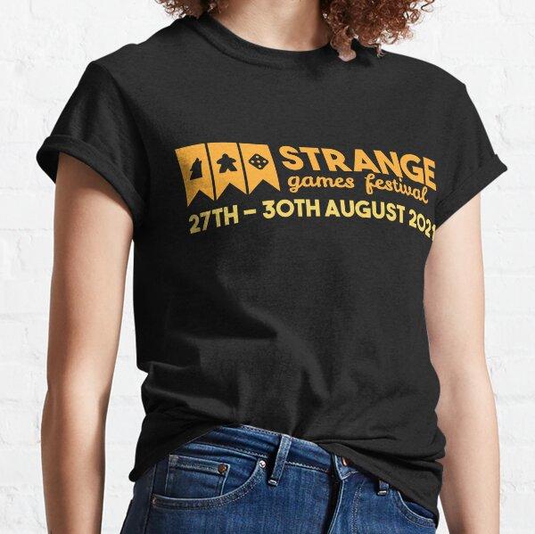 Strange Games Festival Logo (dark) Classic T-Shirt