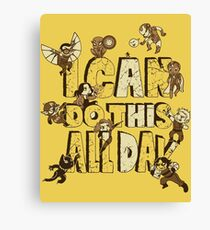 I can do this Canvas Print