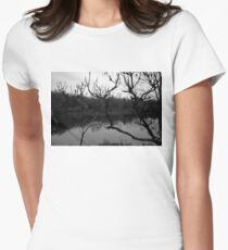 Pictorialist Landscape Women's Fitted T-Shirt
