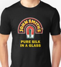JOHN SMITH PURE SILK GLASS BEER Unisex T-Shirt