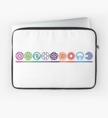 EPCOT Center Retro Future World Pavilion Logos Laptop Sleeve