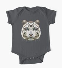 White Tiger One Piece - Short Sleeve