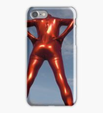 Candy Apple Red Zentai Man 6 iPhone Case/Skin