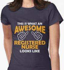 This Is What Awesome Registered Nurse Looks Like! T-Shirt