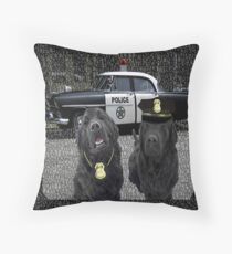 "☞ º°""˜`""°☜♥☞CANINE POLICE DOGS-THROW PILLOW- BAD BOYS THEME TAKEN FROM THEME SONG ☞ º°""˜`""°☜♥☞ Throw Pillow"