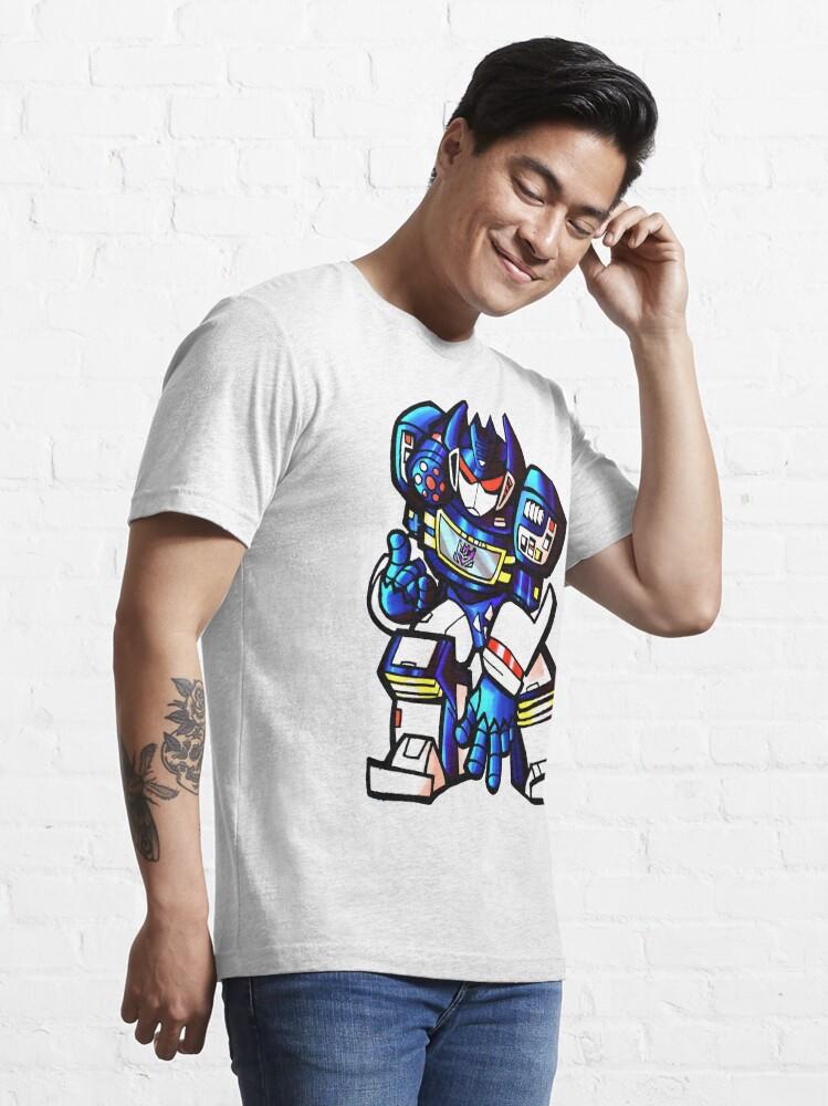 Alternate view of Transformers Soundwave Essential T-Shirt