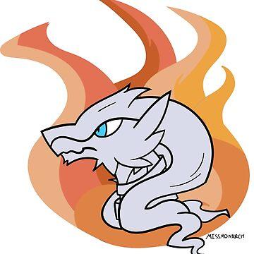 Reshiram - Legendary Pokemon by maplehouse