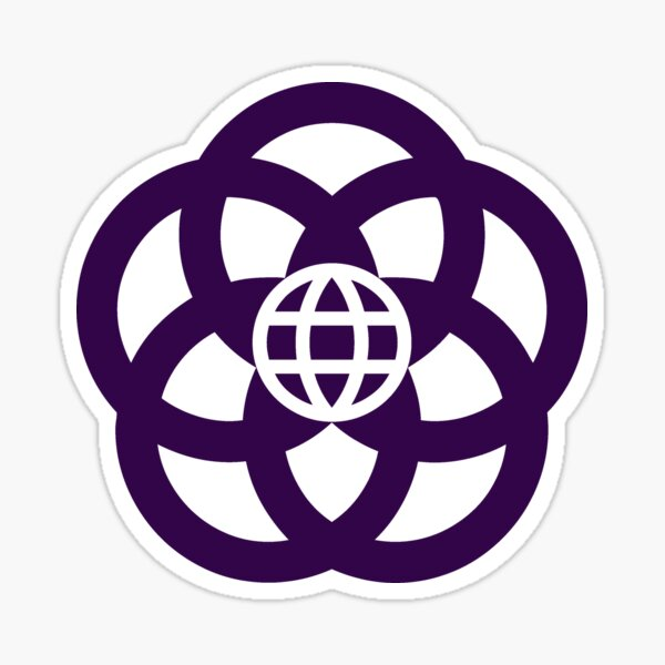 Epcot Center Logo - EPCOT Center Sticker