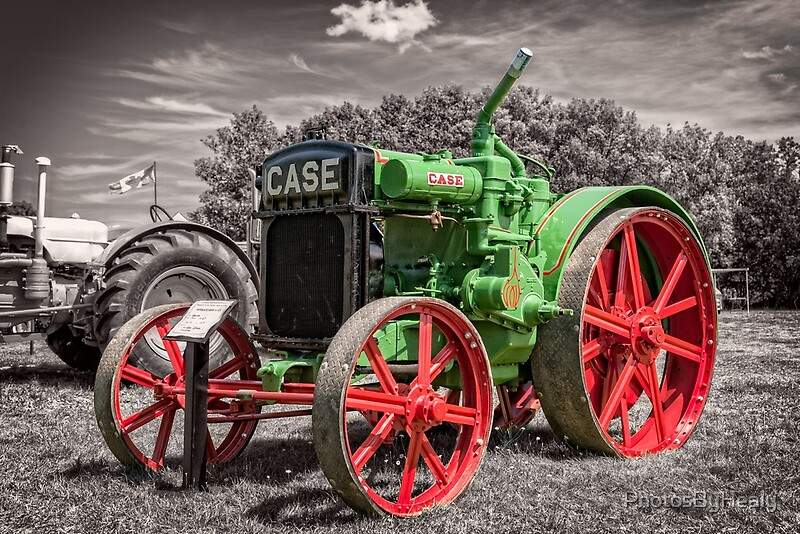 1919 Case tractor by Photos by Healy
