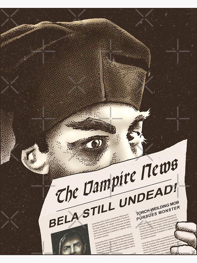 The Vampire News by daveRei