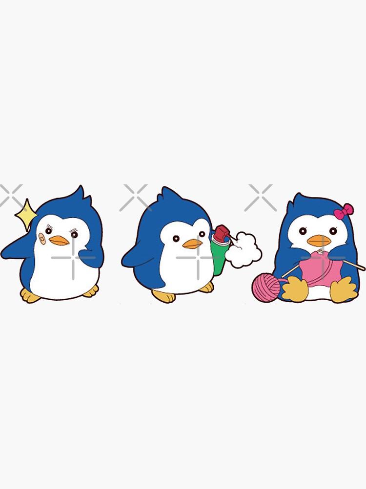 penguin trio by Maidoaria