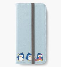 penguin trio iPhone Wallet/Case/Skin