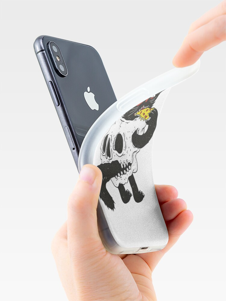 Alternate view of CatnSkull iPhone Case & Cover