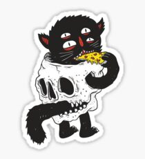 CatnSkull Sticker