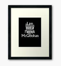 Paddy McG Framed Print
