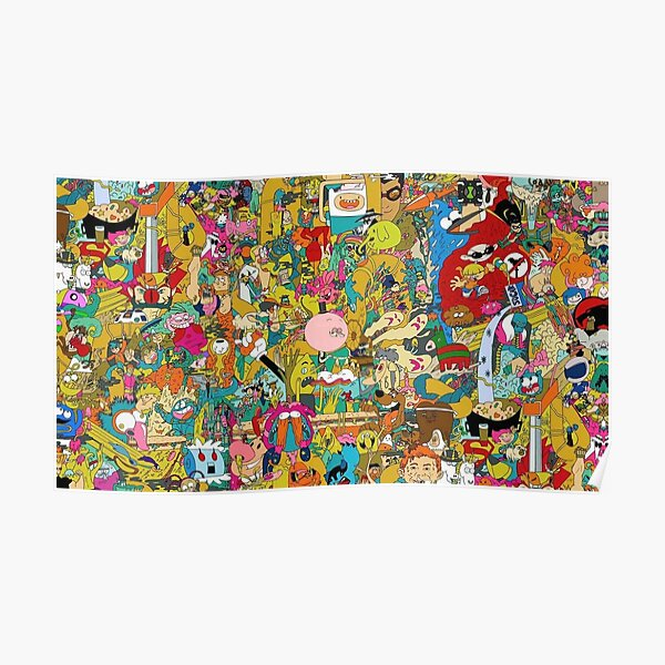 Collection of cartoons  Poster
