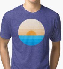 Sun goes down Tri-blend T-Shirt