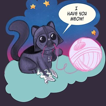 Darth Kitty Bubbles by darthterry