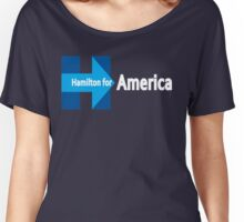 Never gon' be President now - Blue Women's Relaxed Fit T-Shirt