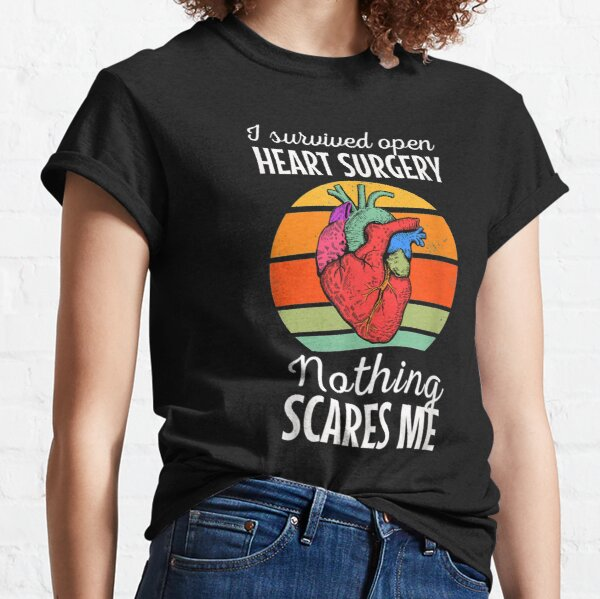Cirugía a corazón abierto Trasplante CABG Pacientes con TR congénita Camiseta clásica