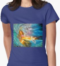 Freezing the Moment Womens Fitted T-Shirt