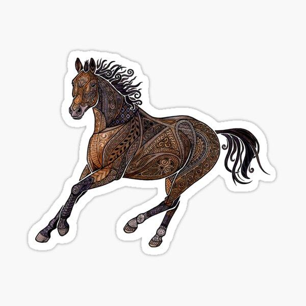 Grecian Horse Sticker