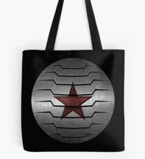 Winter Soldier Star Tote Bag