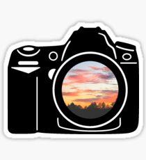 Sunset Camera Sticker
