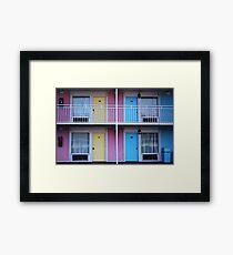 Motel 1 Framed Print
