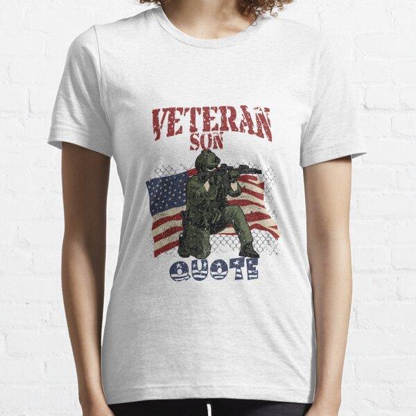 Veteran Son Quote Essential T-Shirt