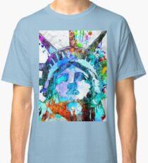 Statue of Liberty Grunge Classic T-Shirt