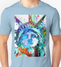 Statue of Liberty Grunge Unisex T-Shirt
