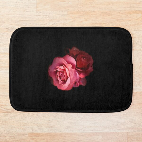 My Love Is Like A Red Red Rose Bath Mat