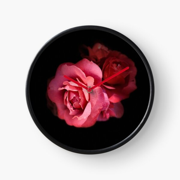 My Love Is Like A Red Red Rose Clock
