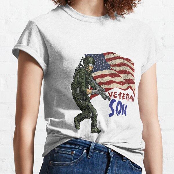 Veteran Son Quote Classic T-Shirt