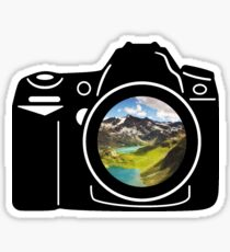 Mountain Camera Sticker